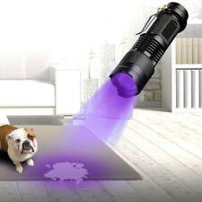 UV Ultra Violet LED Flashlight Blacklight Light Torch 395/365 nM Inspection Lamp