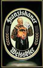 Franziskaner Weissbier embossed metal sign (hi 3020)