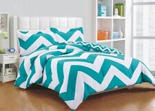 Chezmoi Collection Bedding Reversible Chevron Zig Zag Comforter Set All Size