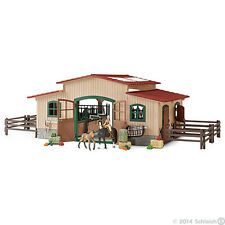 *NEW IN BOX* SCHLEICH 42103 - Horse Stable with Accessories Farm Life