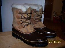 Sorel Alpine womens snow boots size 11 canadian arctic ice cut stylish female