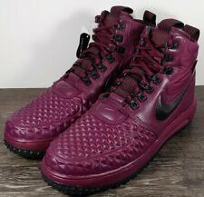 Nike Lunar Force 1 Duckboot 'Burgundy' Men's Size 11 Bordeaux/Black 916682-601