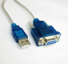 6ft USB to RS232 Female COM Port Serial 9P DB9 Cable Terminal debugging Adapter