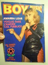 BOY MUSIC 25/1980 AMANDA LEAR LEIF GARRETT CLAUDIO LOLLI TOGNI PAMELA PRATI (L-G