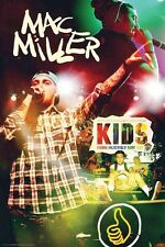 MAC MILLER ~ KIDS 24x36 MUSIC POSTER Rap Hip-Hop Kickin Incredibly Dope Sh**