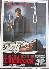 THE HORRIBLE DR. HICHCOCK (1962) Original Italian Movie Poster R70s Cult Horror