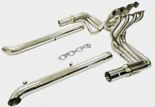 Maximizer Header w/ Side Pipes For 65 To 82 Chevy Corvette BBC Big Block 396-502