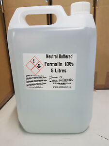 10% Neutral buffered formalin NBF tissue fixative 5 litres