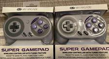 2x NEW My Arcade Super Gamepad controller Nintendo SNES/ NES Classic / Wii