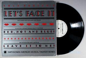 Cole Porter's Let's Face It (1979) Vinyl LP + BOOK • Soundtrack, Ethel Merman