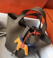 Real 1st layer leather [Picotin Lock] style handbag, lots colours. Good quality