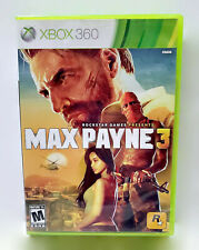 Max Payne 3 Microsoft Xbox 360 Video Game Dark Multiplayer Shooter