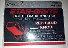 Stryker Star-Bryte SR3 Red LED Lighted Band Knob Kit