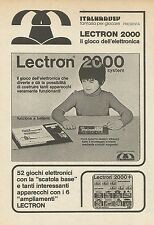 X9986 Lectron 2000 il gioco dell'elettronica - Pubblicità 1976 - Advertising
