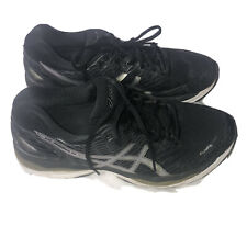 Asics Gel Nimbus 18 T650N Men's Running Sneakers Shoes Black Size 11