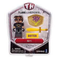 Tube Heroes 3-inch Sky Figure With Accessory YouTube Gaming Collectible D7