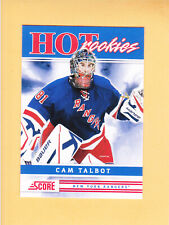 2011 12 SCORE CAM TALBOT HOT ROOKIES ROOKIE #535 NEW YORK RANGERS RC
