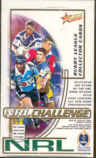 2002 Select NRL Challenge Trading Cards Series Factory Box(36 packs)-RARE