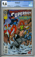 SUPERBOY #13 CGC 9.6NM+ KING SHARK 1st Joins SUICIDE SQUAD Only CGC GRADED COPY!
