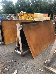Partially Weathered Corten Steel Sheets / Mild Steel/ Partially Rusted