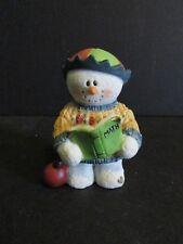 1998 Sarah's Attic SnoWonders September Snowman Newton-New In Box