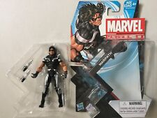 "Marvel Universe 3 3/4"" WARPATH Action Figure LOOSE MINT With Weapons"