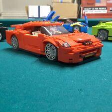 Lego custom GTR Skyline convertible 2 figure seater Sportscar by Erockzart speed