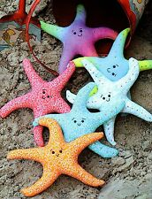 SEA STARS - Sewing Craft A5 Creative Card PATTERN - Seaside Fish Starfish