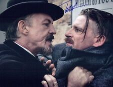 TOMMY FLANAGAN Signed 8x10 AUTHENTIC Autograph PEAKY BLINDERS w/ Paul Anderson