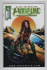 Witchblade #75 (New Dimension Exclusive) Cheesecake Platinum Foil WW Philly COA