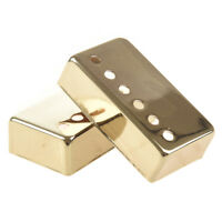 2Pcs Guitar Humbucker Pickup Cover 52Mm Gold C5N1