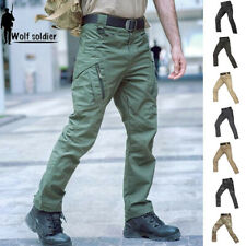 Army Mens Military Tactical Pants Cargo Combat City Casual Camouflage Waterproof