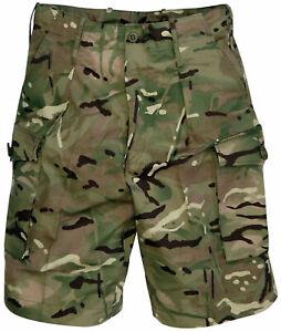 Genuine British Army MTP Combat Shorts New Camouflage Multi Terrain PCS UK