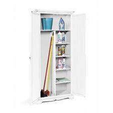 Closet Cabinet, Art Povera White Lacquered CMS 87x40x192H
