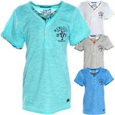 Jungen-T-Shirts, - Polos & -Hemden Größe 122 aus Baumwollmischung mit Motiv