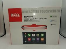 Boss BVCP9850W Double-DIN, Wireless Apple CarPlay & Android Auto Stereo Receiver