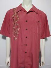 Mens Island Republic Button Down Shirt Short Sleeve Sz XL EUC
