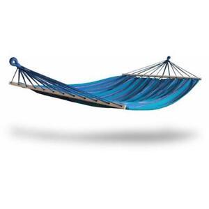 Kings Pond Enterprises 10221-KP Hammaka Woven 2 Person Hammock - Blue