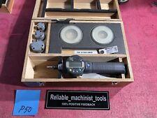 Mitutoyo Digital Borematic Inside Micrometer 10 To 20 Inch W 2 Rings P50