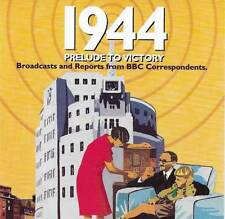 1944 PRELUDE TO VICTORY BBC Correspondents Broadcasts & Reports CD Audio Book