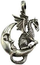 Midnight Dragon Pewter Pendant!