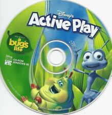 DISC ONLY* Disney's A Bug's Life: Active Play (Ages 4-8, Windows 95, PC CD) #88B