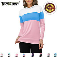 Anti-UV Skin Sun Protection Shirt Womens Long Sleeve Performance T-Shirts Tops