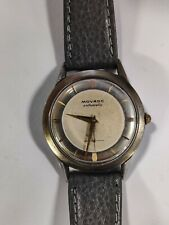 Rare Movado Bumper Automatic Wrist Watch marked movement 9200, Serviced Works
