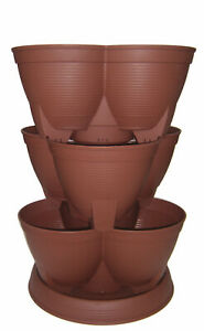 Stacking Planter Maximum Size Best for Vegetables