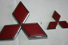 99-02 MITSUBISHI MONTERO SPORT REAR 2 EMBLEM LOGO BADGE SIGN