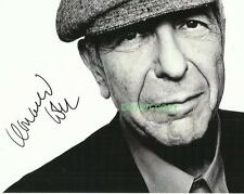 Leonard Cohen legendary artist reprint signed photo #3 RP Hallelujah