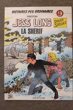 BD jess long n°9 la shérif EO 1984 TBE piroton