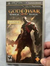God of War Ghost of Sparta Sony PSP 2010Complete Rare Playstation Portable
