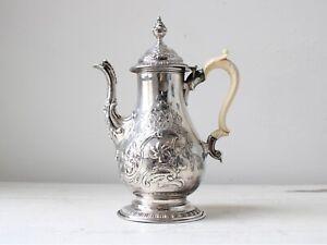 18th Century George III Sheffield Plate Coffee Pot